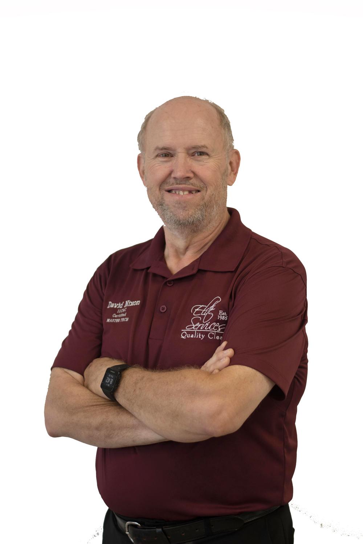 David Nixon - IICRC Master Textile Cleaning Technician