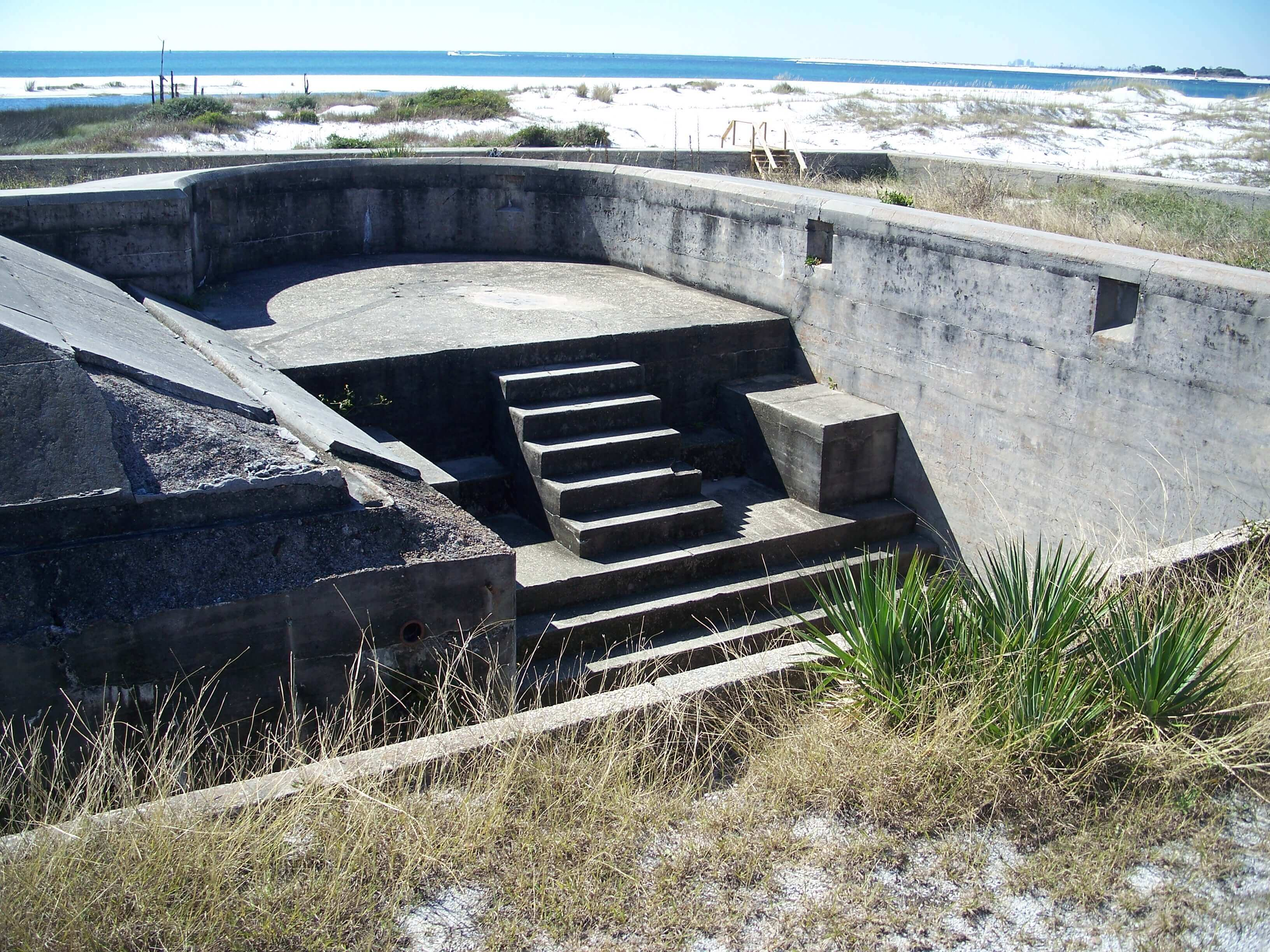 Pensacola FL historic fort pickens