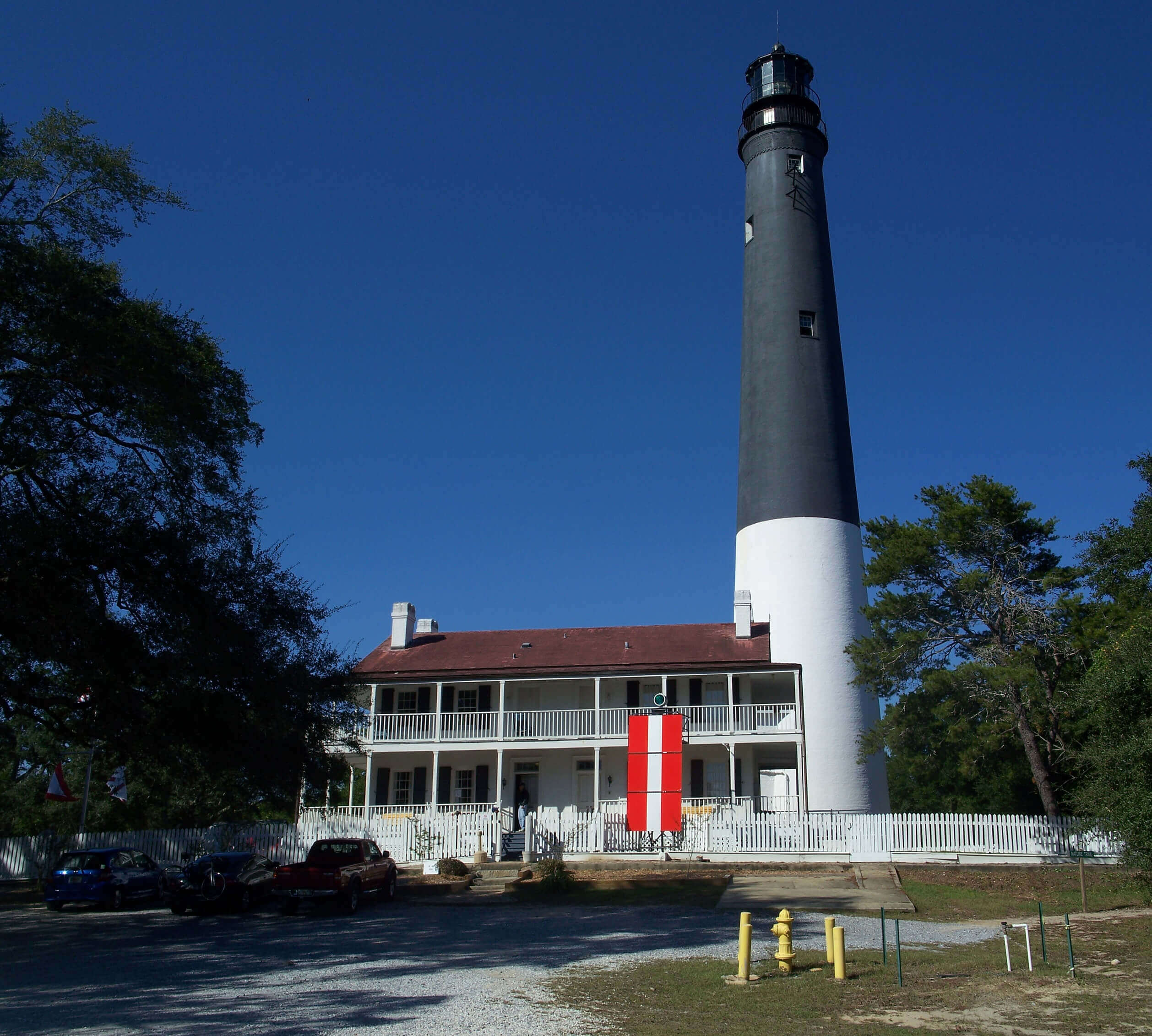 Pensacola FL lighthouse attraction